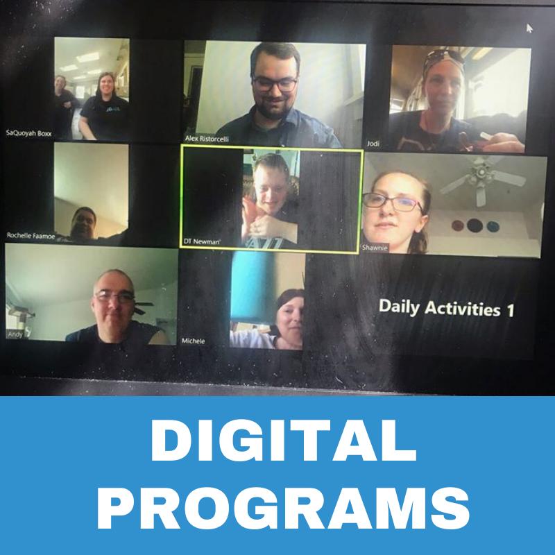 Digital Programs Button