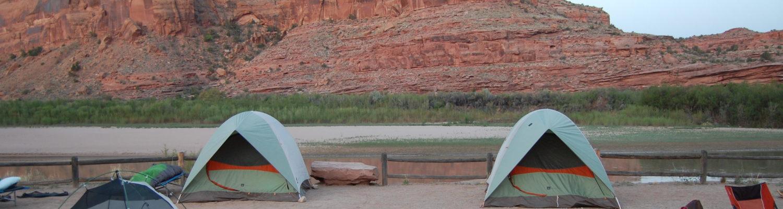 Campsite in Moab