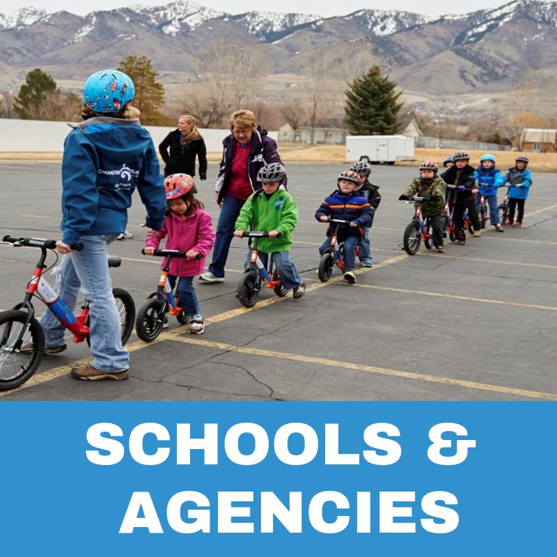Schools & Agencies Programs Button