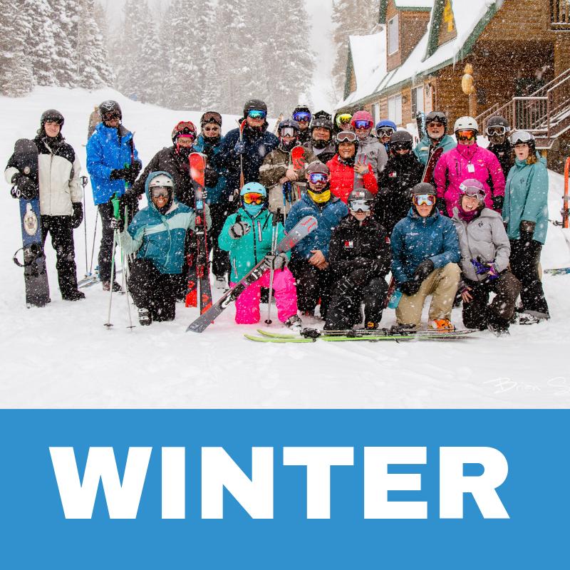 Winter Program Button